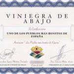 Diploma Viniegra de Abajo